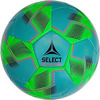 Мяч футбольный select dynamic (018) бирюз/желт размер 5, фото 1