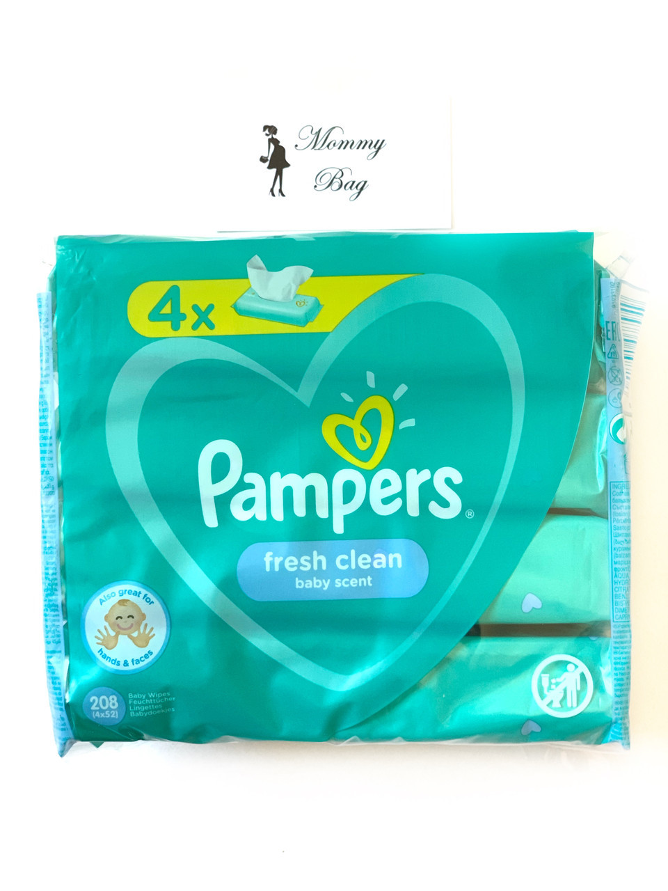 Влажные салфетки Pampers Fresh Clean 208 шт (4х52)