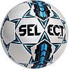 Мяч футбольный select team бело/синий, размер 3