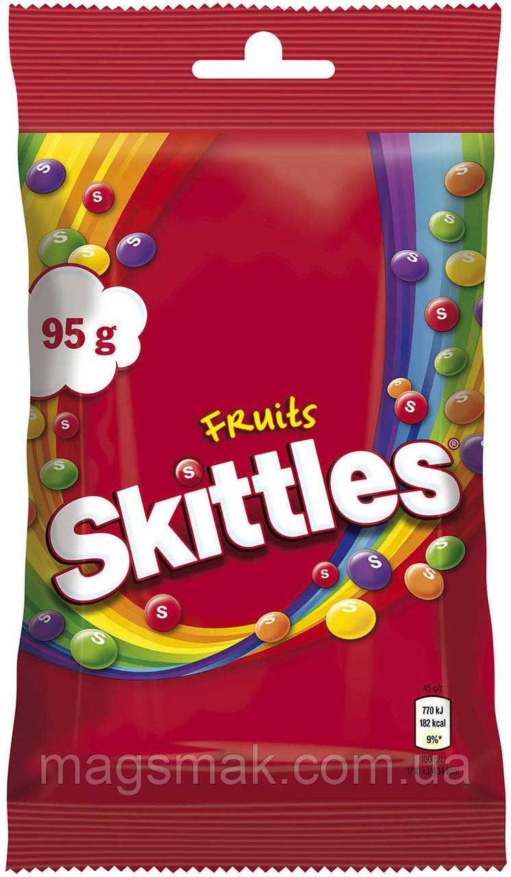 Драже Skittles Фрукты 95 г