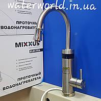 Электрический кран-водонагреватель проточного типа с индикатором температуры  Mixxus Electra 340 ES