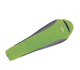 Спальный мешок Terra Incognita Siesta Regular 100 (REG) (L) (зелен/сер)
