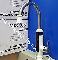 Электрический кран-водонагреватель проточного типа с индикатором температуры  Mixxus Electra 340 E