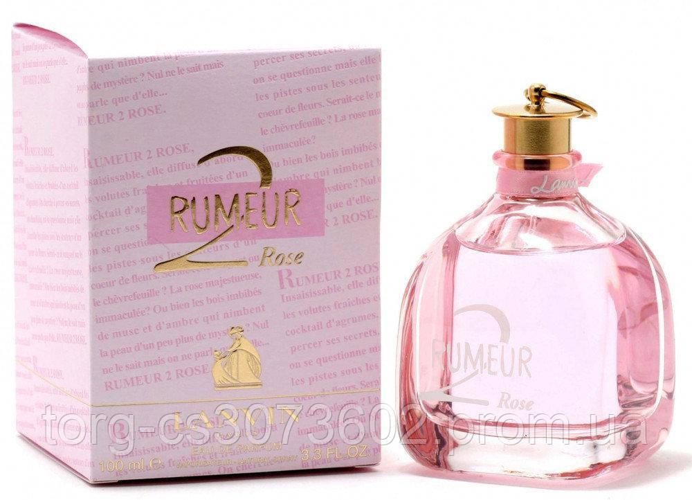 Lanvin Rumeur 2 rose, женская парфюмированная вода 100 мл.