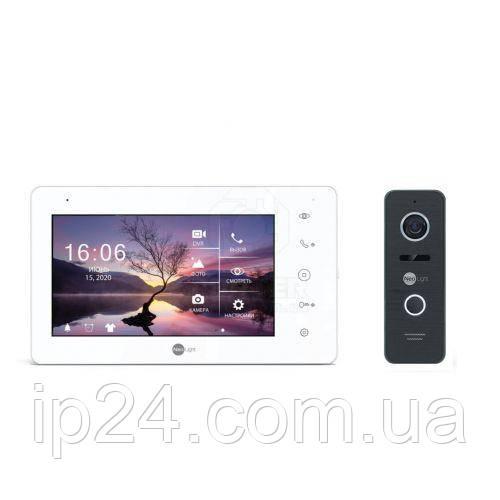 NeoLight NeoKIT HD+ Black IPS FULL HD с DVR комплект домофона
