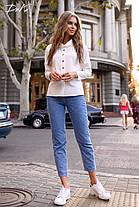 Чудная блуза с воротником, фото 3
