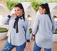 Женская модная рубашка  ДГд41350 (бат), фото 1