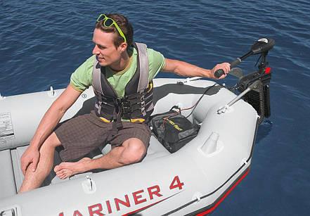 Электромотор INTEX для надувных лодок 420 Вт, фото 2