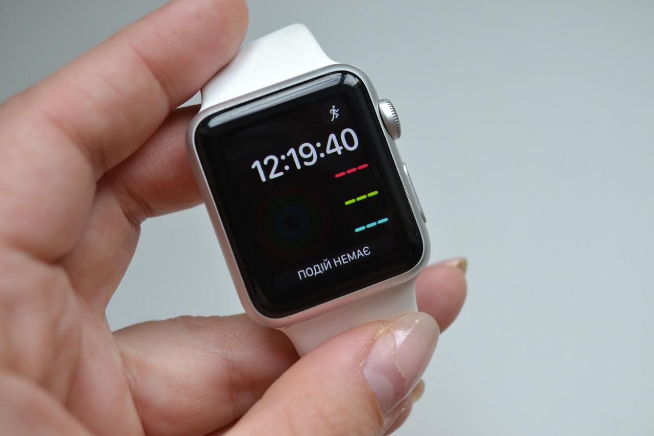 Смарт-часы Apple Watch 38mm 7000 A1553 Silver Aluminium Оригинал!