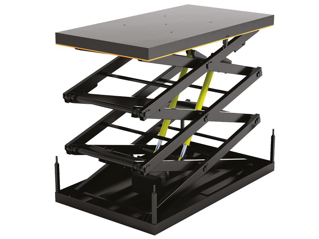 DoorHan 3LT — подъемный стол с тремя парами ножниц