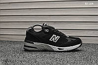 Мужские кроссовки New Balance 991 (черные)