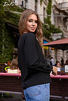 Симпатичная блуза с вставкой, фото 3