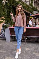 Современная блуза прямого кроя, фото 2