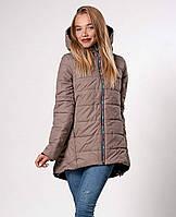 Осенняя женская куртка на синтепоне