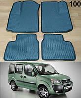 Коврики на Fiat Doblo '01-09. Автоковрики EVA, фото 1