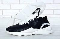 Мужские Кроссовки Adidas Yohji Yamamoto Y-3 Kaiwa Black / White