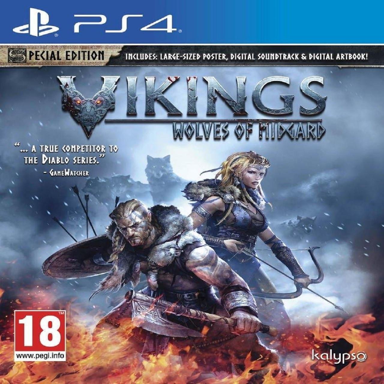 Vikings - Wolves of Midgard (англійська версія) PS4