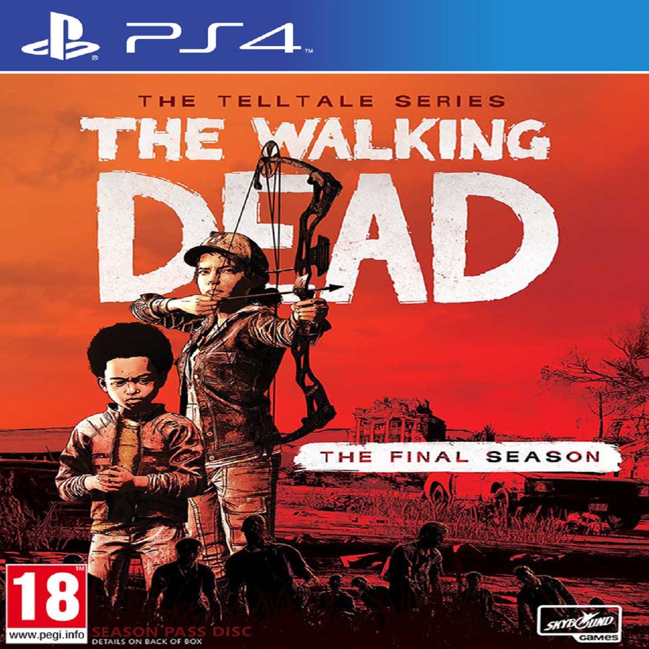 The Walking Dead: The Final Season RUSPS4 (NEW)