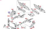 Кронштейн крила переднього правого метал кіа Спортейдж 4, KIA Sportage 2016-20 QLe, 64525d9000, фото 4