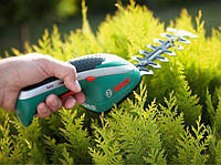 Аккумуляторные ножницы Bosch ISIO 3 3,6 V Li кусторез, фото 6