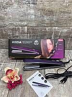Утюжок для волос выпрямитель Rozia HR-728 с Led индикатором температуры