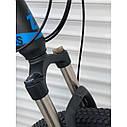 """Спортивный велосипед черный с синим ТopRider 29"""" металлическая рама 19"""" рост 170 - 185см, фото 3"""