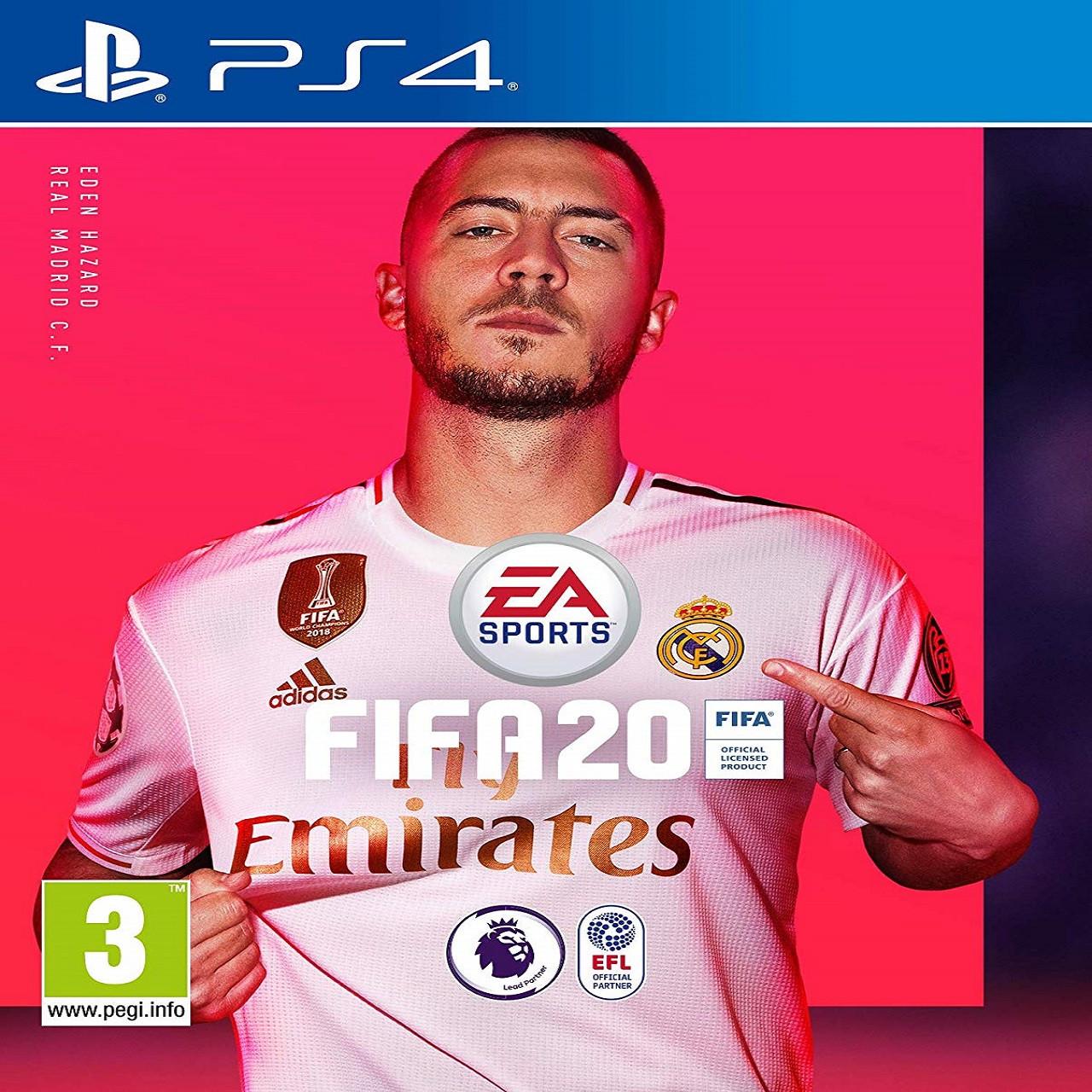 FIFA 20 RUS PS4