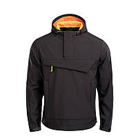 M-Tac анорак Soft Shell Fighter Black/Orange