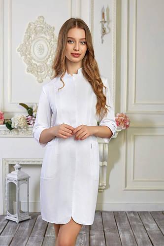Женский медицинский халат Розалия - Жіночий медичний халат Розалія - Халат для косметолога