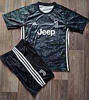 Детская футбольная форма Ювентус/Juventus ( Италия, Серия А ), вратарская, сезон 2019-2020, фото 1