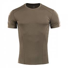 M-Tac футболка потоотводящая Athletic Velcro Olive S