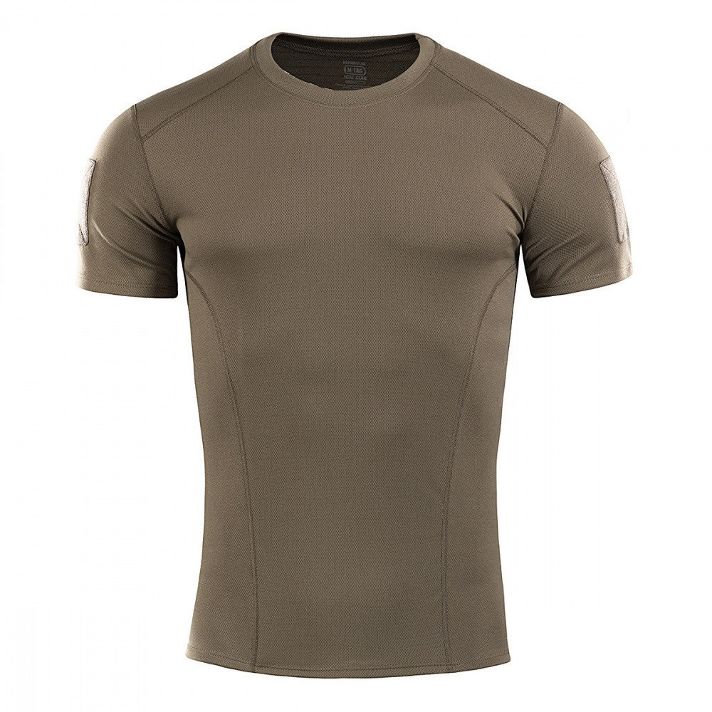 M-Tac футболка потоотводящая Athletic Velcro Olive 2XL