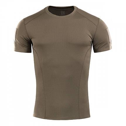 M-Tac футболка потоотводящая Athletic Velcro Olive 2XL, фото 2