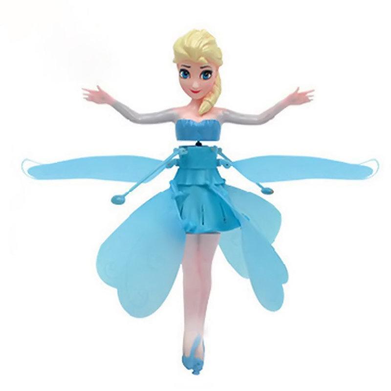 Холодное сердце, летающая кукла frozen 6602 a в коробке