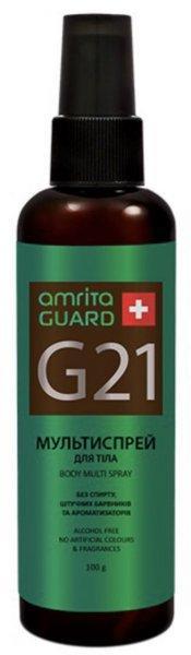 AMRITA GUARD Биодезодорант спрей для жінок Амріта G 21, 100 мл.