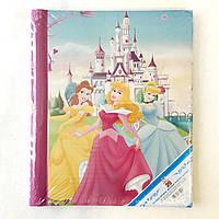 Фотоальбом Disney на 20 страниц, Принцессы на фоне замка