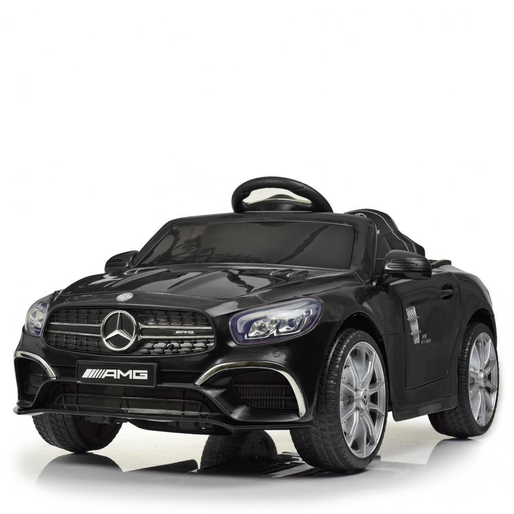 Детский электромобиль Merсedes AMG M 4147EBLR-2 черный Гарантия качества Быстрая доставка