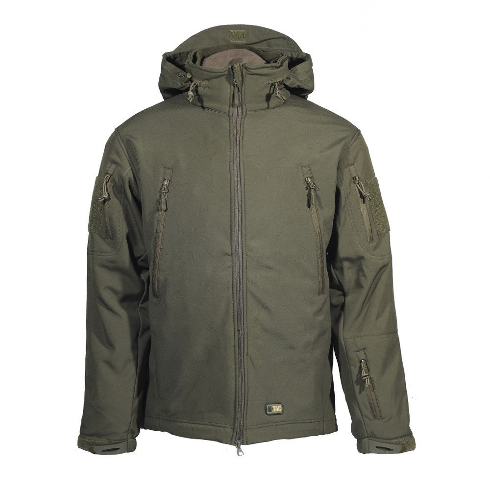 M-Tac куртка Soft Shell с подстежкой олива 2XL