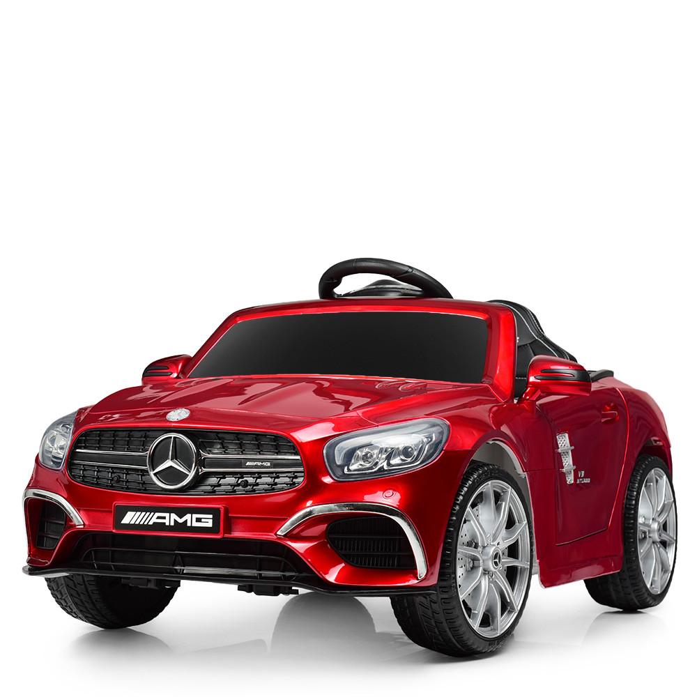 Детский электромобиль Merсedes AMG M 4147EBLRS-3 Автопокраскакрасный Гарантия качества Быстрая доставка