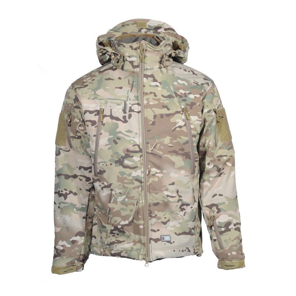 M-Tac куртка Soft Shell с подстежкой мультикам