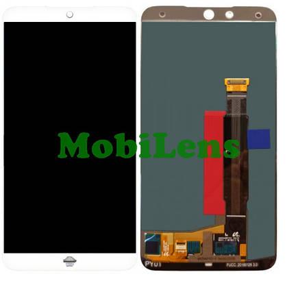 Meizu 15, M881H Дисплей+тачскрін(модуль) білий, фото 2