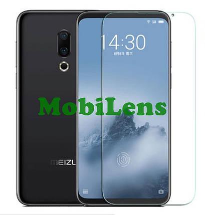 Meizu 16 Plus Защитное стекло черное, фото 2
