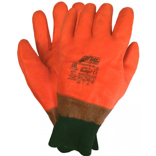 Перчатки утеплённые NITRAS FLAMINGO Пламя