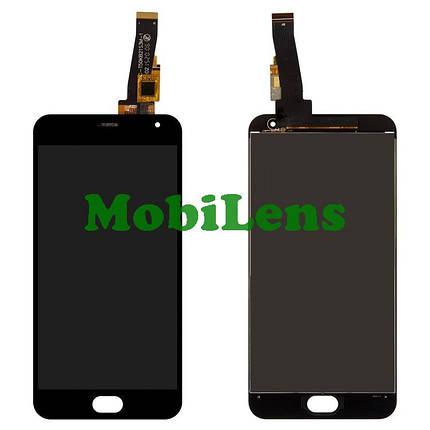 Meizu M2, M2 Mini, M578, M578U Дисплей+тачскрін(модуль) чорний, фото 2