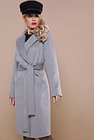 Пальто двубортное, прямого силуэта рр 42-52