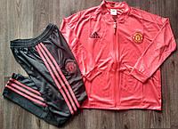 Детский спортивный костюм Манчестер Юнайтед/Manchester Unite (Англия, Премьер Лига ), красный, сезон 2019-2020, фото 1