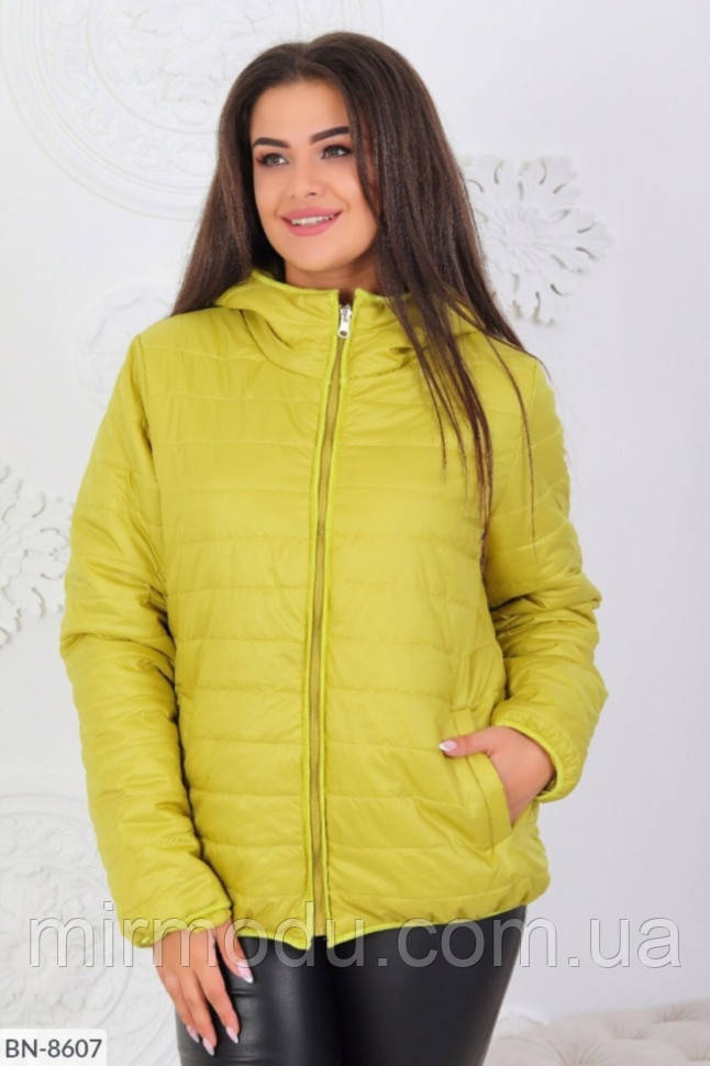 Куртка женская осенняя BN-8607 р:46-48,50-52,54-56,58-60,62-64 079716