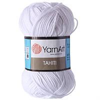 Yarnart Tahiti № 210 белый