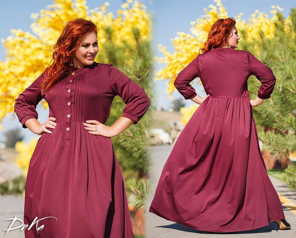 Женское шикарное платье в пол  ДГс527 (норма / бат)