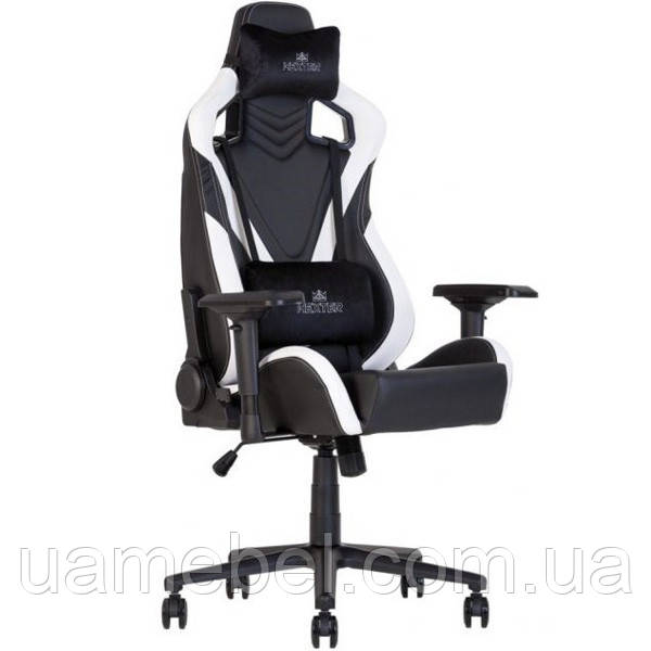 Крісло ігрове для комп'ютера HEXTER (ХЕКСТЕР) PRO-V R4D TILT MB70 02 black/white